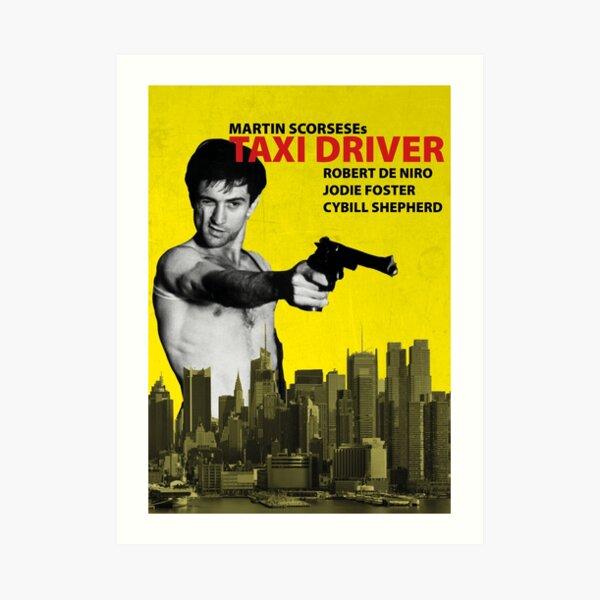 Taxi Driver Póster Travis Bickle Lámina artística
