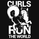 CURLS RUN THE WORLD by Zhivago