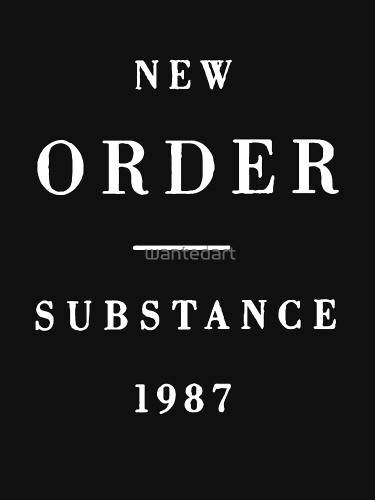 New Order Substance | Unisex T-Shirt