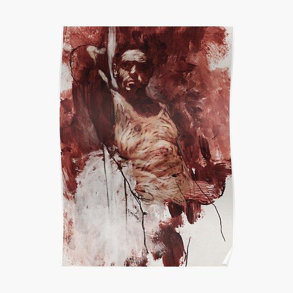 142 Male figure Poster