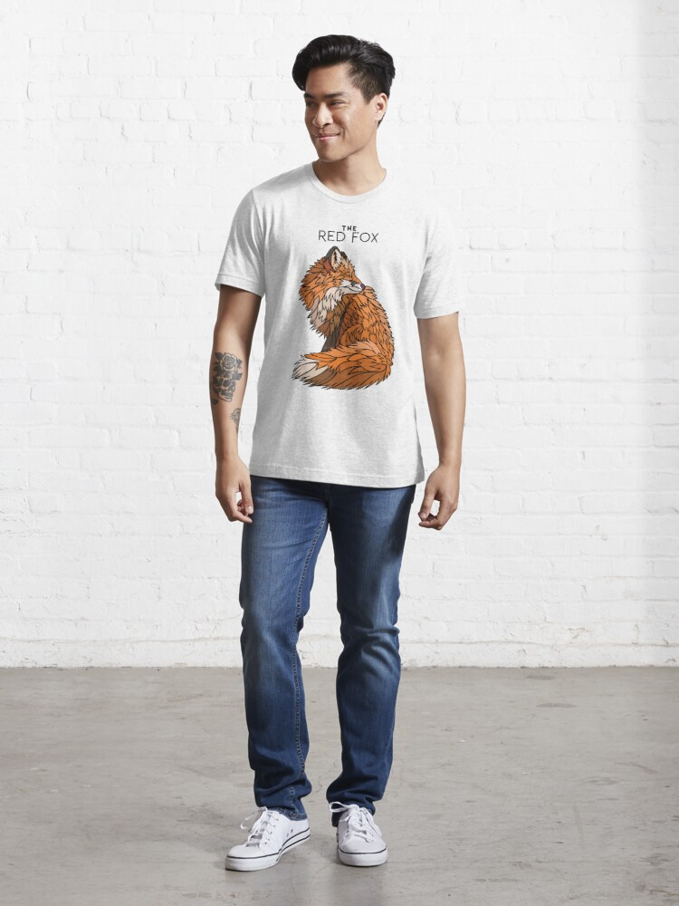 Alternate view of THE RED FOX Essential T-Shirt