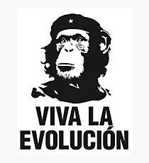 Viva la evolucion - cuban parody Photographic Print