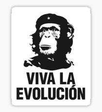 Viva la evolucion - cuban parody Sticker