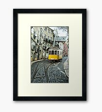 Point Tram  Framed Print