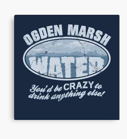 Ogden Marsh Water Canvas Print