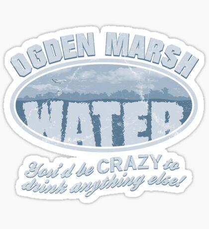 Ogden Marsh Water Sticker