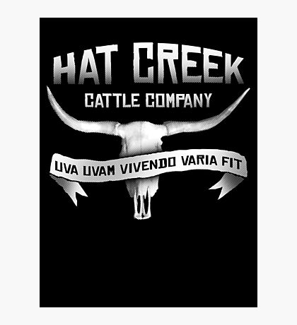 Hat Creek Cattle Company Photographic Print