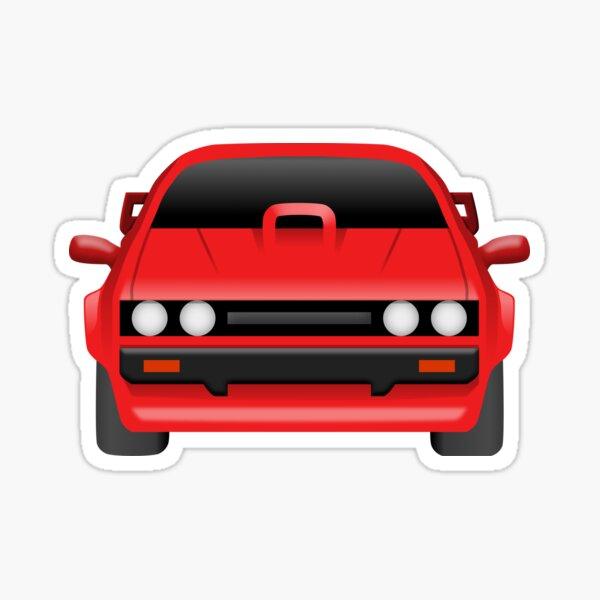 Ford Capri MK3 Tuned - Front design Sticker