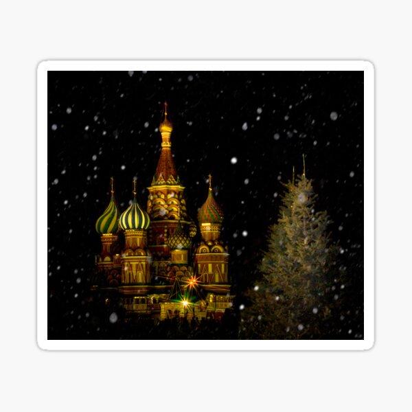 Moscow Night Sticker