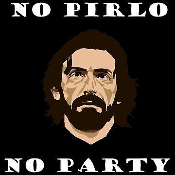No Pirlo No Party by wantedart