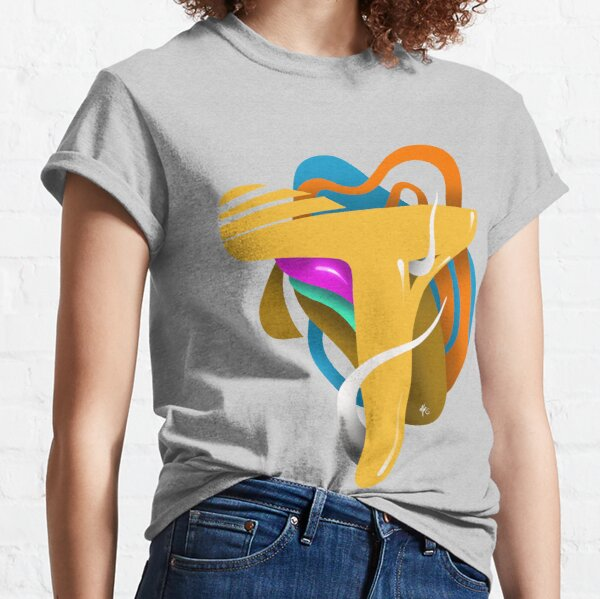 LETTER T Classic T-Shirt