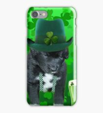 ♥‿♥ DO U EVER FEEL AFTER A FEW DRINKS YOUR SEEING WAY TOO MANY SHAMROCKS?? ♥‿♥ iPhone Case/Skin