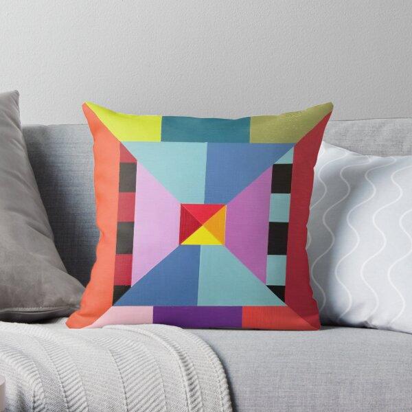 Modern Geometric Designs on everything Throw Pillow