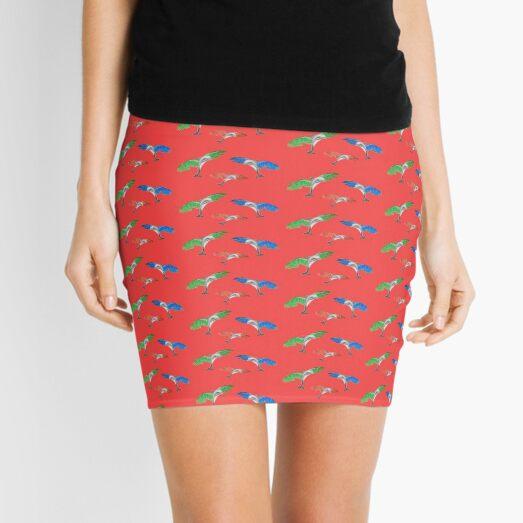 Flying Dolphins (version 1) Mini Skirt