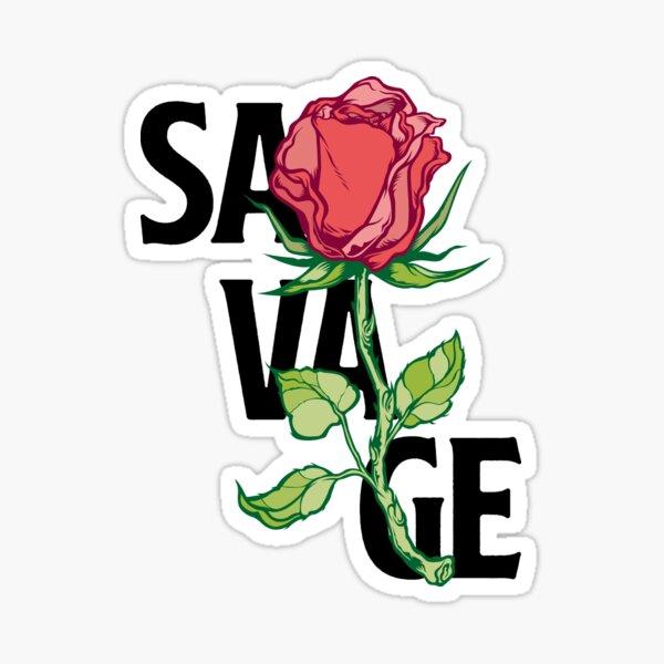 Savage Rose  Sticker