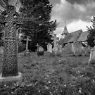 Pyrford Church by Martin Griffett