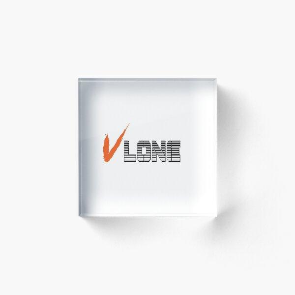 VLONE Acrylic Block