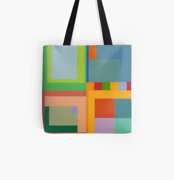Modern Geometric Designs on everything. All Over Print Tote Bag