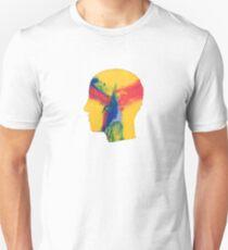 Camiseta unisex Se siente como si sólo retrocediéramos