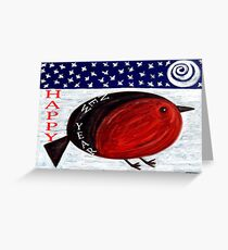 HAPPY NEW YEAR 3 Greeting Card