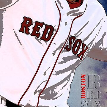 Boston Red Sox Baseball, Typography by drawspots