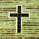 cross on church by Lynne Prestebak