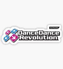 Dance Dance Revolution by Konami Sticker