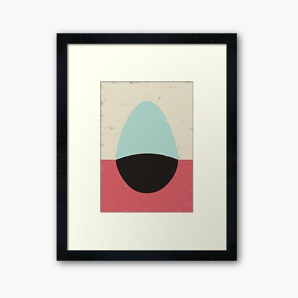 HERE IV (EGG) Framed Art Print