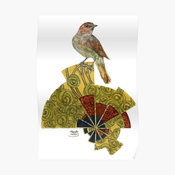 Nightingale's Rose Poster