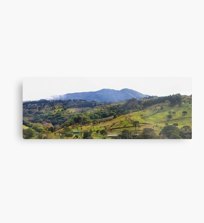How green was my Costa Rican valley Metal Print