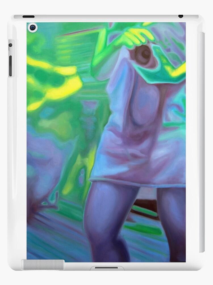 The photographer, 2011, 53-80cm, oil on canvas by oanaunciuleanu