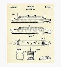 Steamship-1937 Photographic Print