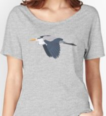 Grey Heron Women's Relaxed Fit T-Shirt