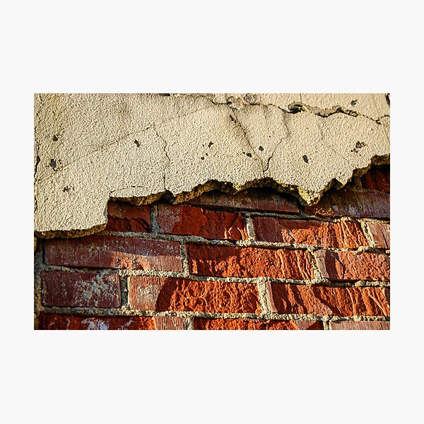 Another Brick in the Wall Photographic Print