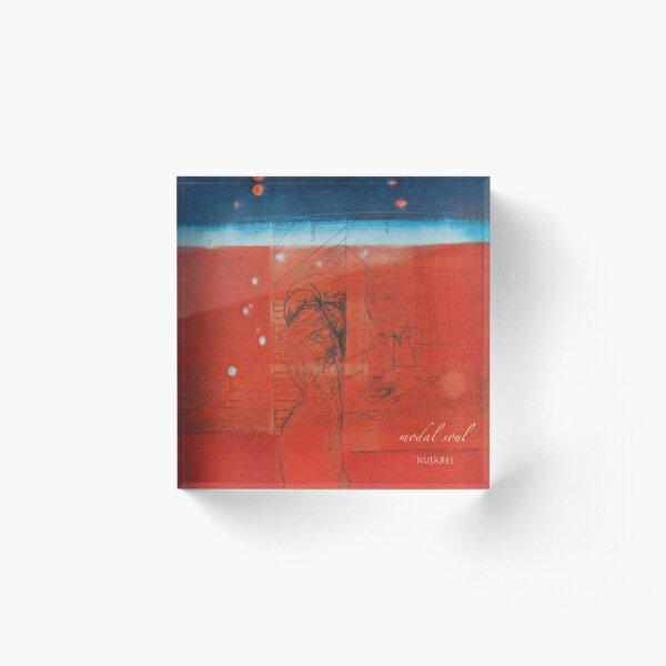 Nujabes - Modal Soul Album Cover Art Acrylic Block