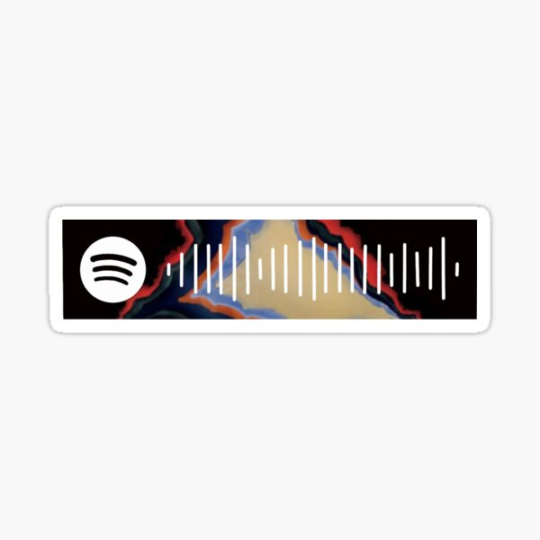 Lady May Spotify Code Sticker