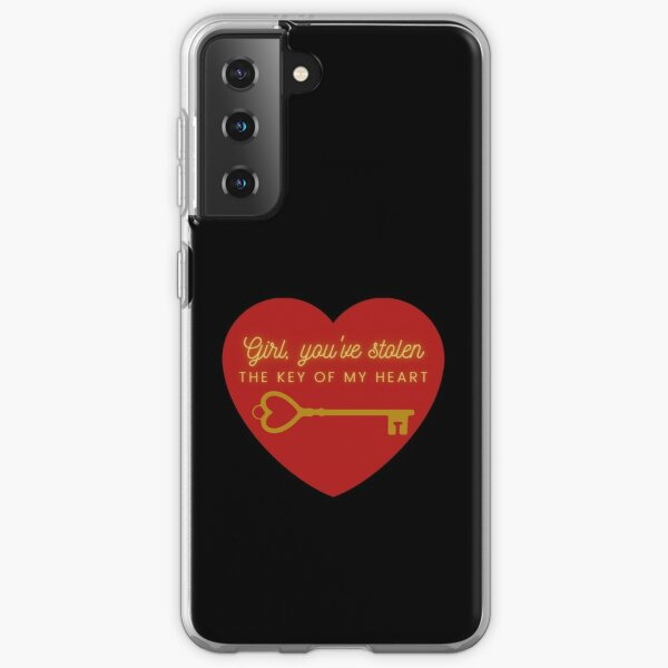 You have the key of my heart Samsung Galaxy Soft Case