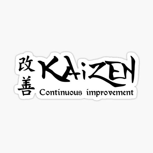 Kaizen Continuous Improvement Sticker