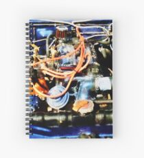 Under The Hood Abstract Spiral Notebook