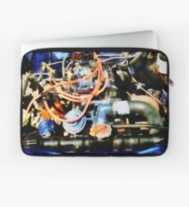 Under The Hood Abstract Laptop Sleeve