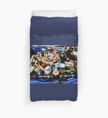 Under The Hood Abstract Duvet Cover