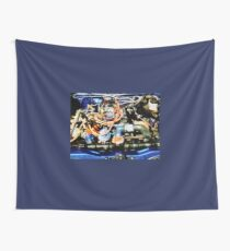 Under The Hood Abstract Wall Tapestry