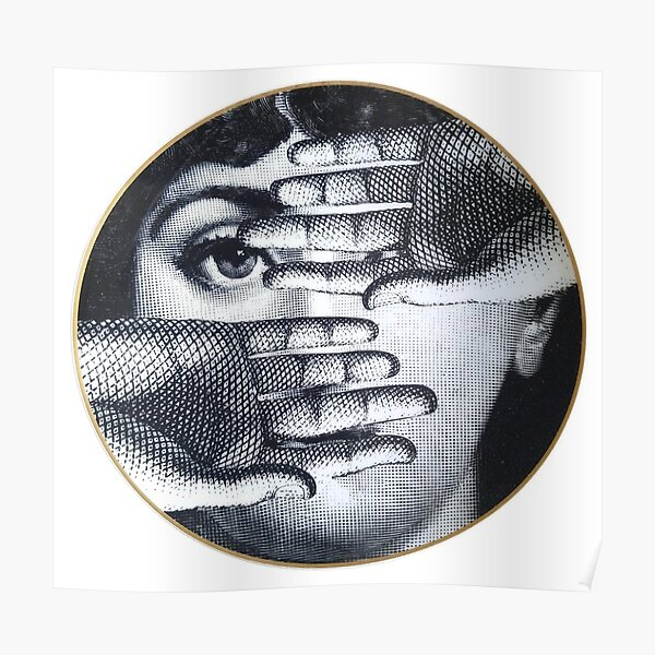 Fornasetti Eye - Lina Cavalieri Poster