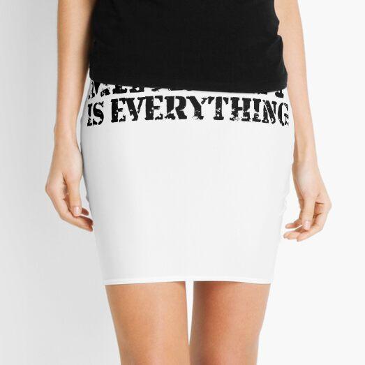Mindset is Everything Mini Skirt