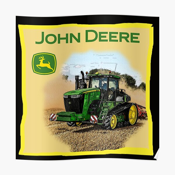 Exemple simple John Deere Poster