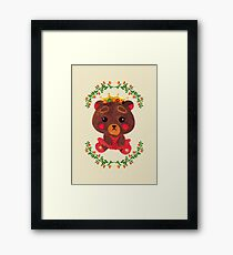Betty the Little Bear Princess Framed Print