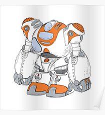 Anime Robot Poster