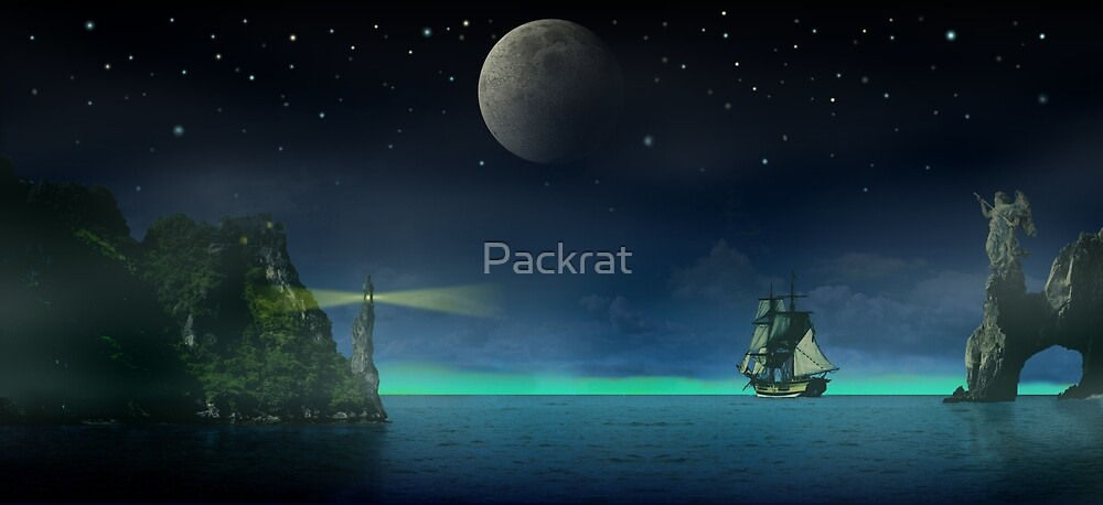 Pirate Cove by Packrat