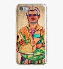 Peter Venkman (timber) iPhone Case/Skin