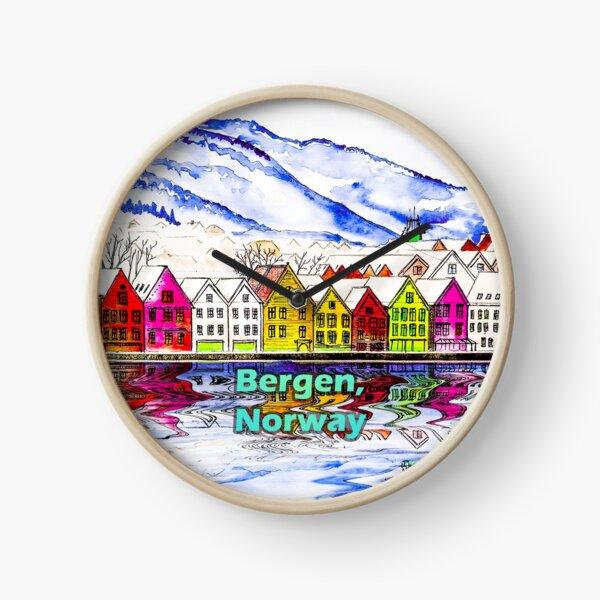 Bergen, Norway Clock